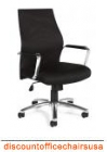 Mesh Back Chrome Frame Managers Chair